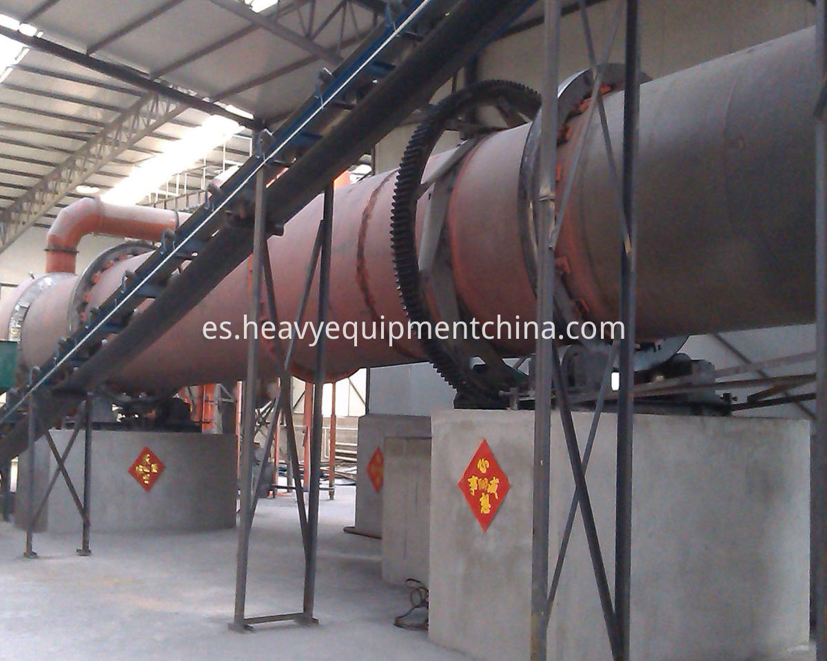 Rotary Dryer For MSW